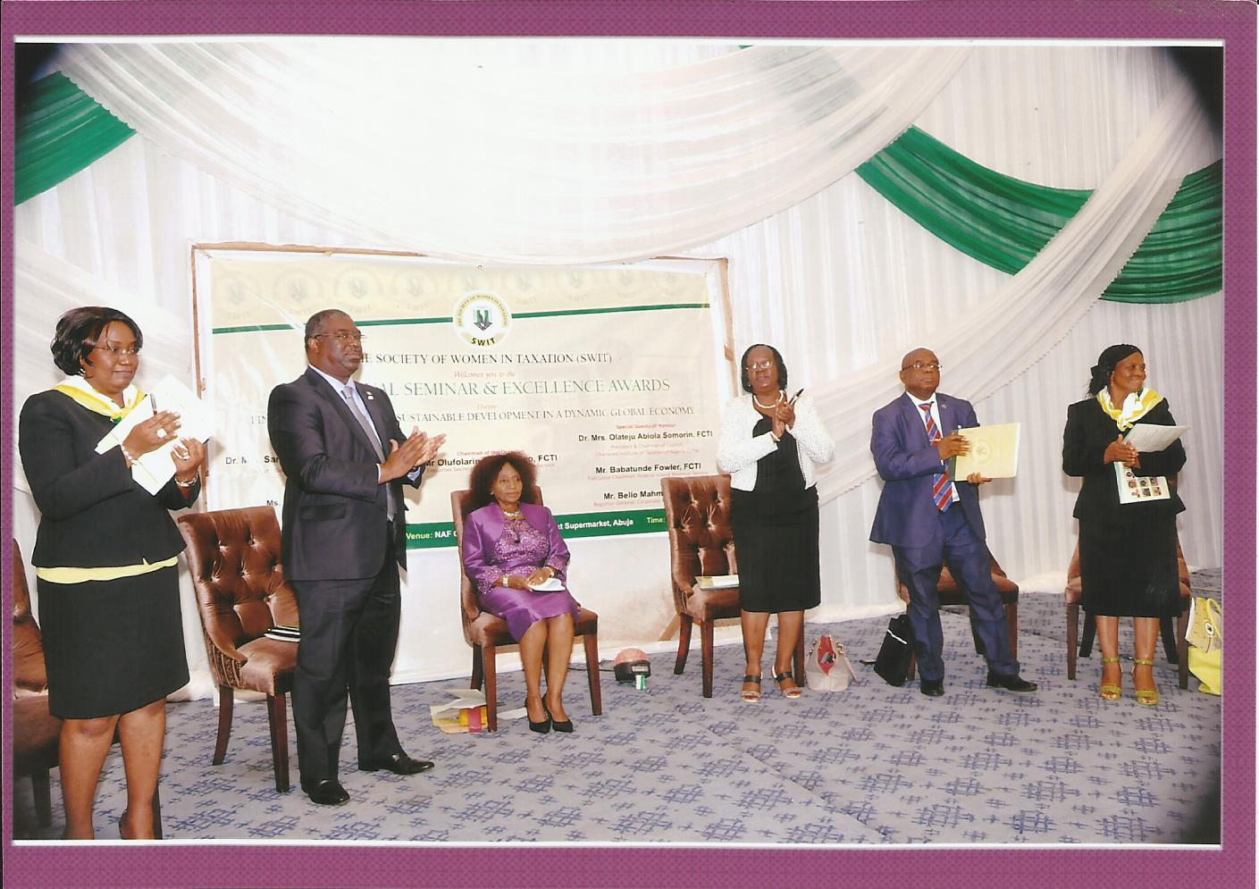 Multiple Income Streams – A Focus on Agripreneurship Presentation to the Society of Women in Taxation (SWIT) Chartered Institute of Taxation of Nigeria (CITN) NAF Conference Centre May 8 2018, Abuja
